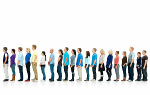 bigstock_Long_Line_Of_People_Standing_I_4097919